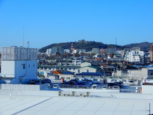 松山城と遠望スポット