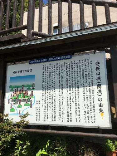 関城(美濃国)〜安桜山城(関城)の由来〜