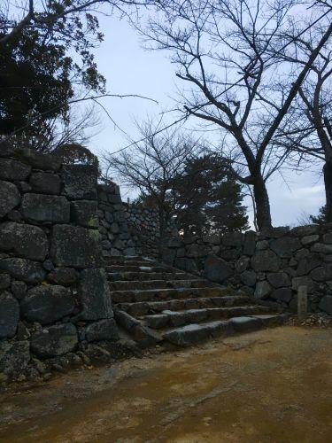 松坂城 〜中御門跡〜