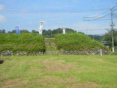 群馬県藤岡市西平井にある鮎川の深い渓谷で守られていた平井城