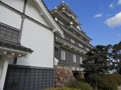岡山城(日本100名城) 10 天守から廊下門