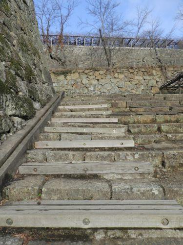 津山城(日本100名城) 6  表中門から切手門まで