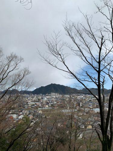 鷺山城(美濃国)〜鷺山城から岐阜城を望む〜