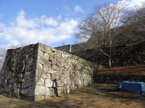 津山城(日本100名城) 20 裏下門まで
