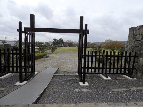 白河小峰城(日本100名城) 4 清水門から竹之丸跡まで