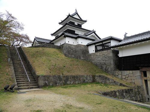 白河小峰城(日本100名城) 6  本丸跡