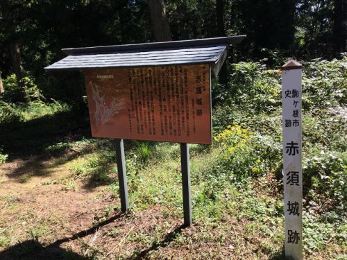 アーカイブ消費月間 赤須城跡